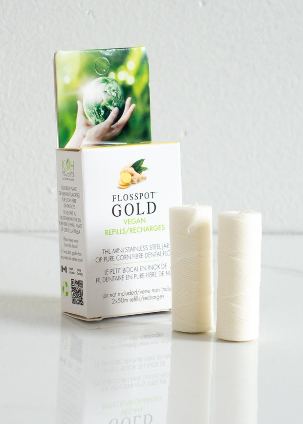Biodegradable Vegan Dental Floss Refill