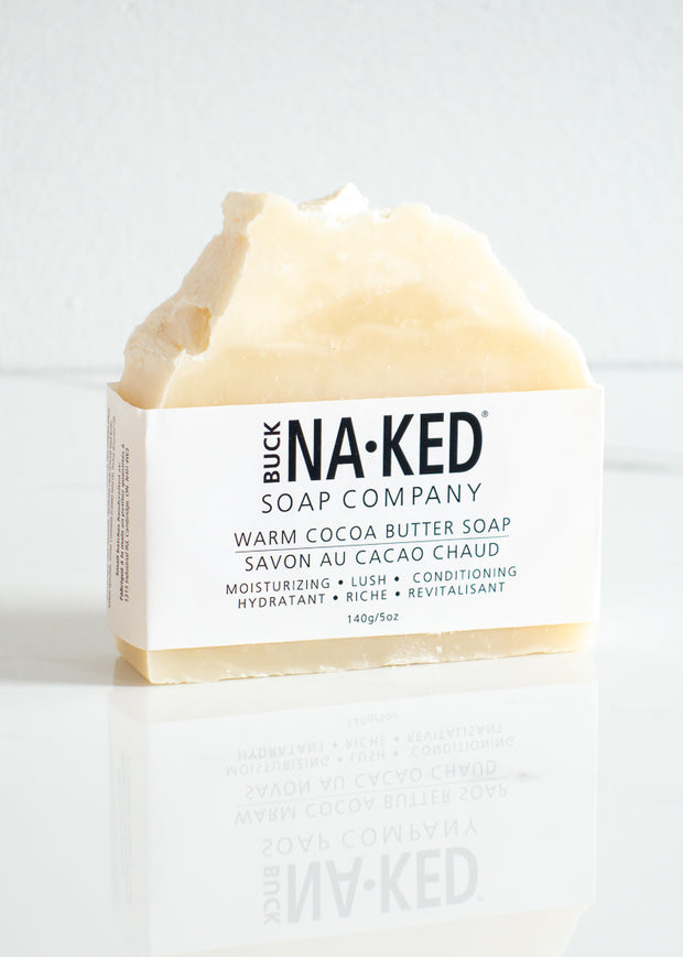 Buck Naked Warm Cocoa Butter Soap