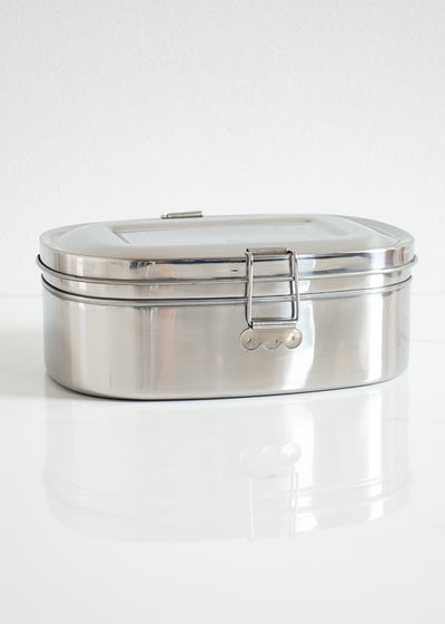 Large 2-Layer Stainless Steel Sandwich Box