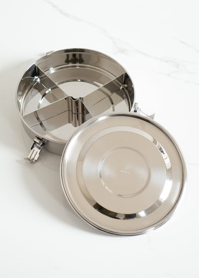 Divided Airtight Stainless Steel Food Storage Container