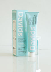 Davids Premium Natural Toothpaste - Spearmint
