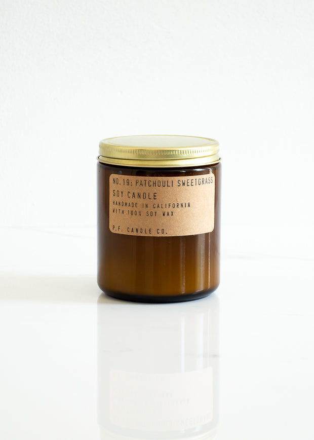 Soy Candle - Patchouli Sweetgrass