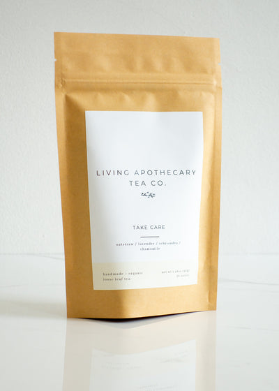 Living Apothecary - Take Care - Loose Leaf Tea Blend