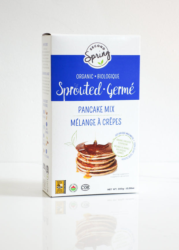 Organic Sprouted Whole Grain Pancake Mix
