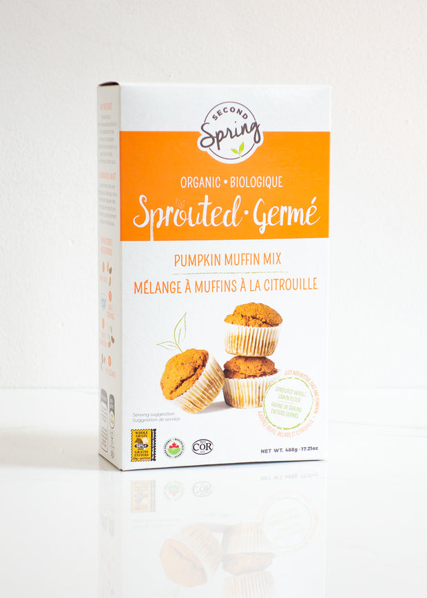 Organic Sprouted Pumpkin Muffin Mix