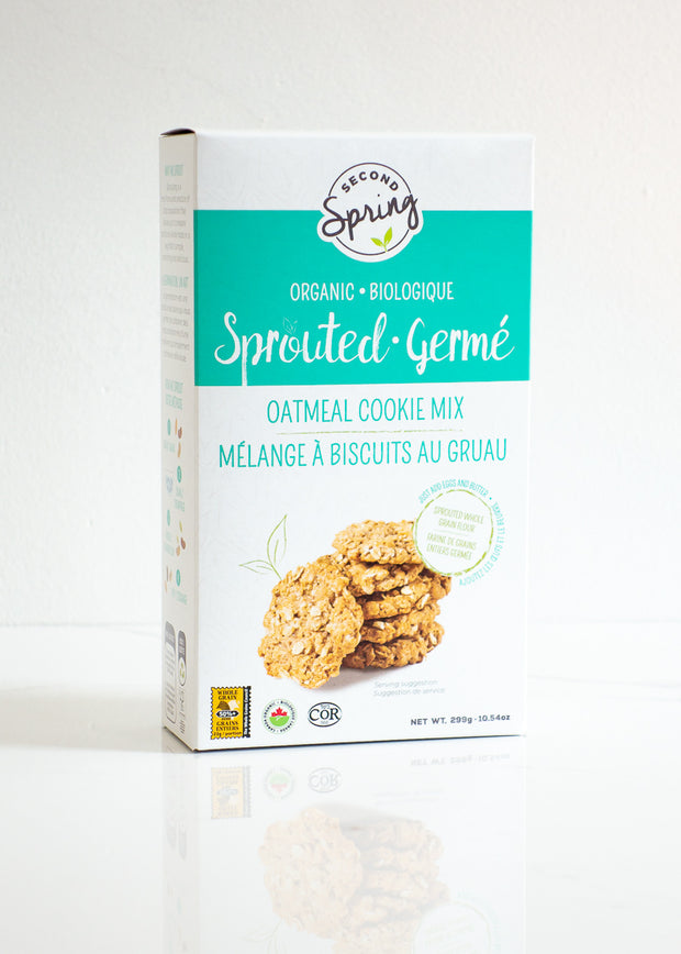 Organic Sprouted Oatmeal Cookie Mix