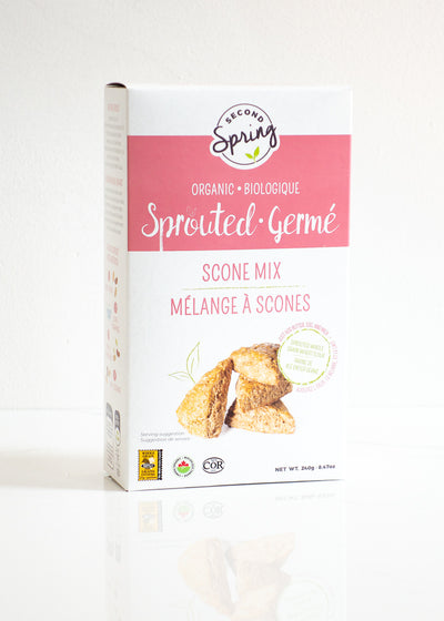 Organic Sprouted Whole Grain Scone Mix