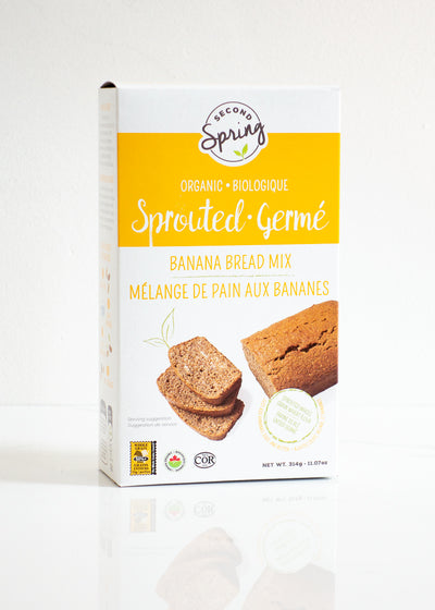 Organic Sprouted Banana Bread Mix