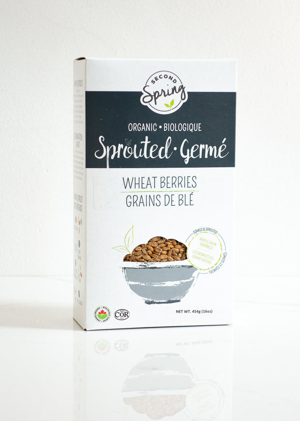 Organic Sprouted Wheat Berries