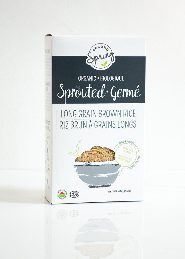 Organic Sprouted Long Grain Brown Rice