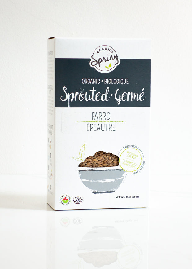 Organic Sprouted Farro (Emmer)