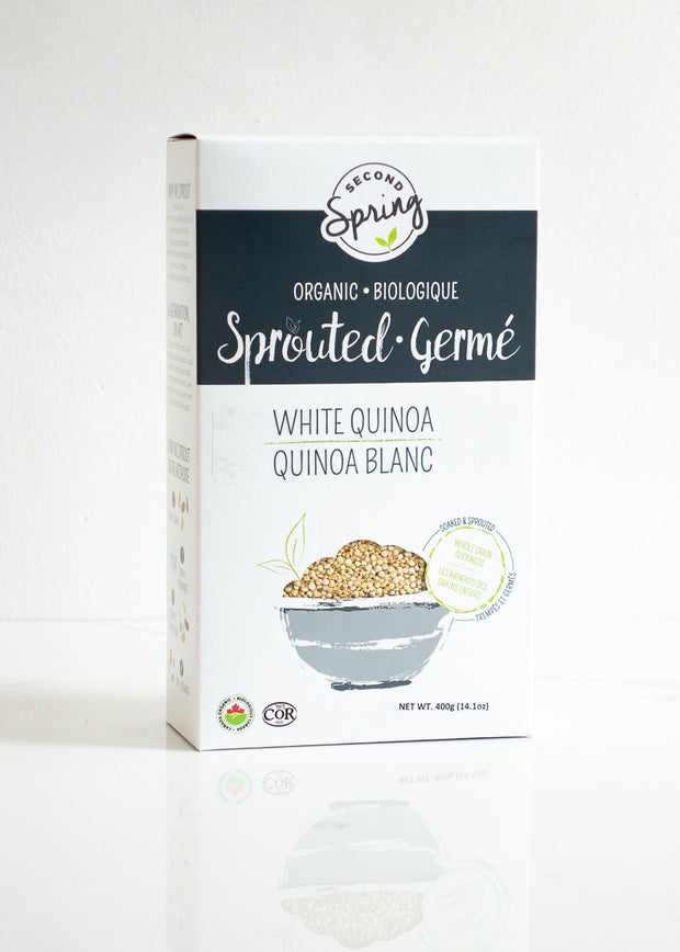 Organic Sprouted White Quinoa