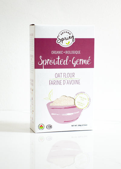 Organic Sprouted Oat Flour