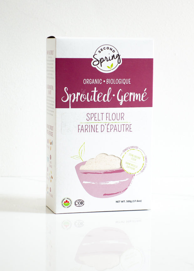 Organic Sprouted Spelt Flour