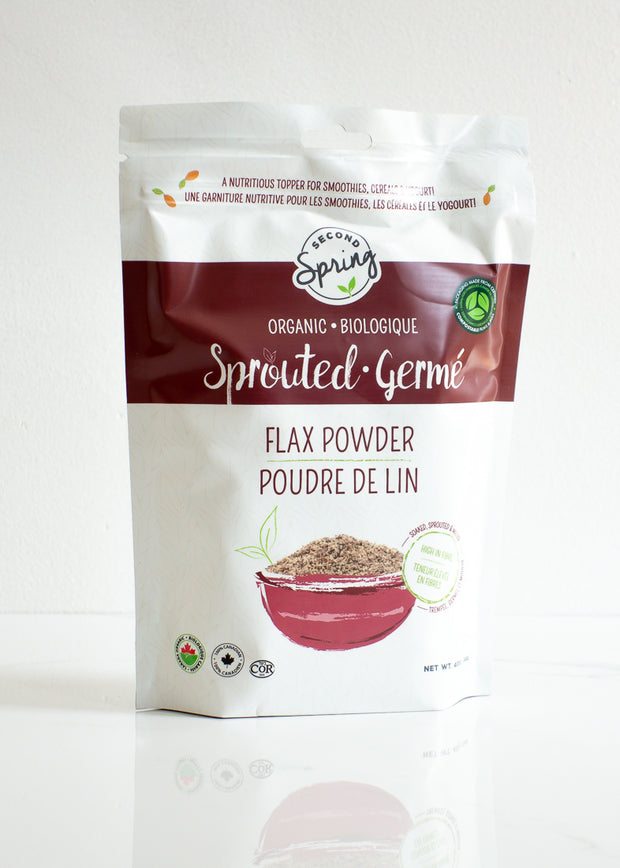 Organic Sprouted Flaxseed Powder