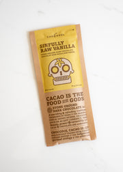 ChocoSol - Sinfully Raw Vanilla Dark Chocolate Bar