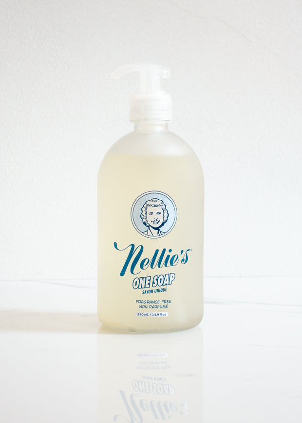 Nellie's One Soap Fragrance Free (Dish & Hand Soap)