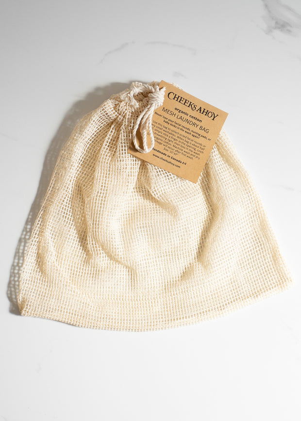 Small Mesh Laundry Bag