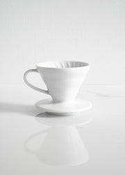 Hario V60-01 Ceramic Coffee Dripper (1-2 cups)