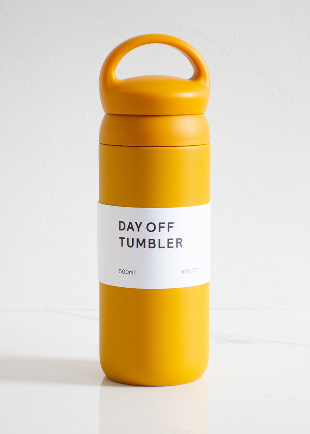 KINTO Day Off Tumbler 500 ml - Mustard