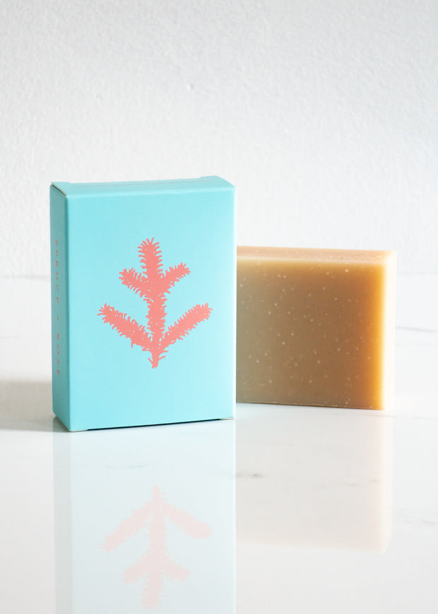 ALTR Spruce & Rose Soap