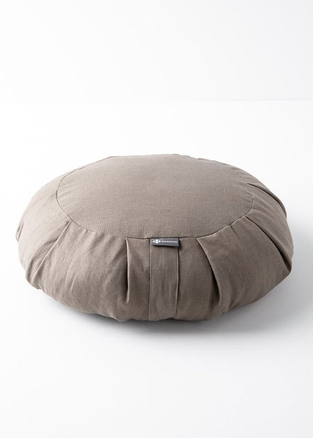 Linen Round Meditation Cushion