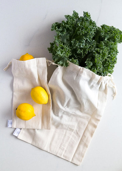 Reusable bulk bags (x2)