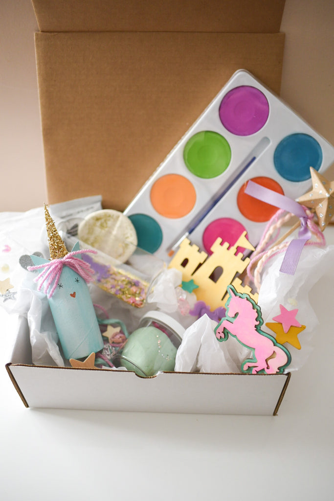 PRE-ORDER Unicorn Fantasy Toddler Activity Box
