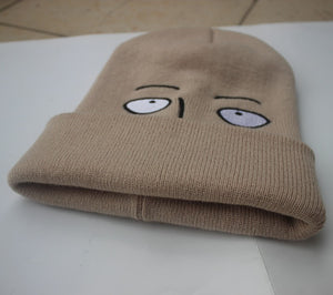 fluffy one punch man anime beanie