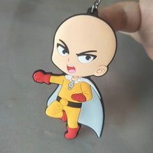 Load image into Gallery viewer, anime one punch man saitama keychain
