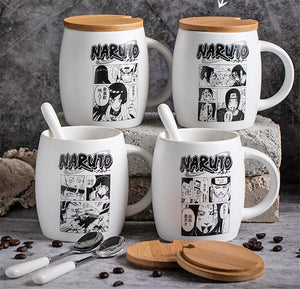 Naruto Shippuden - Comic Strip Coffee Mug