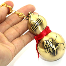 Load image into Gallery viewer, Naruto Shippuden - Gaara Metal Gourd Keychain