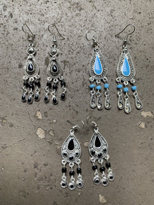 Moroccan Jewelry: Tear Drop Earring