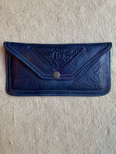 Load image into Gallery viewer, Moroccan Leather Clutch Wallet - Snap Button