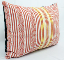 Load image into Gallery viewer, Rectangular Throw Pillow- Sunset Stripes