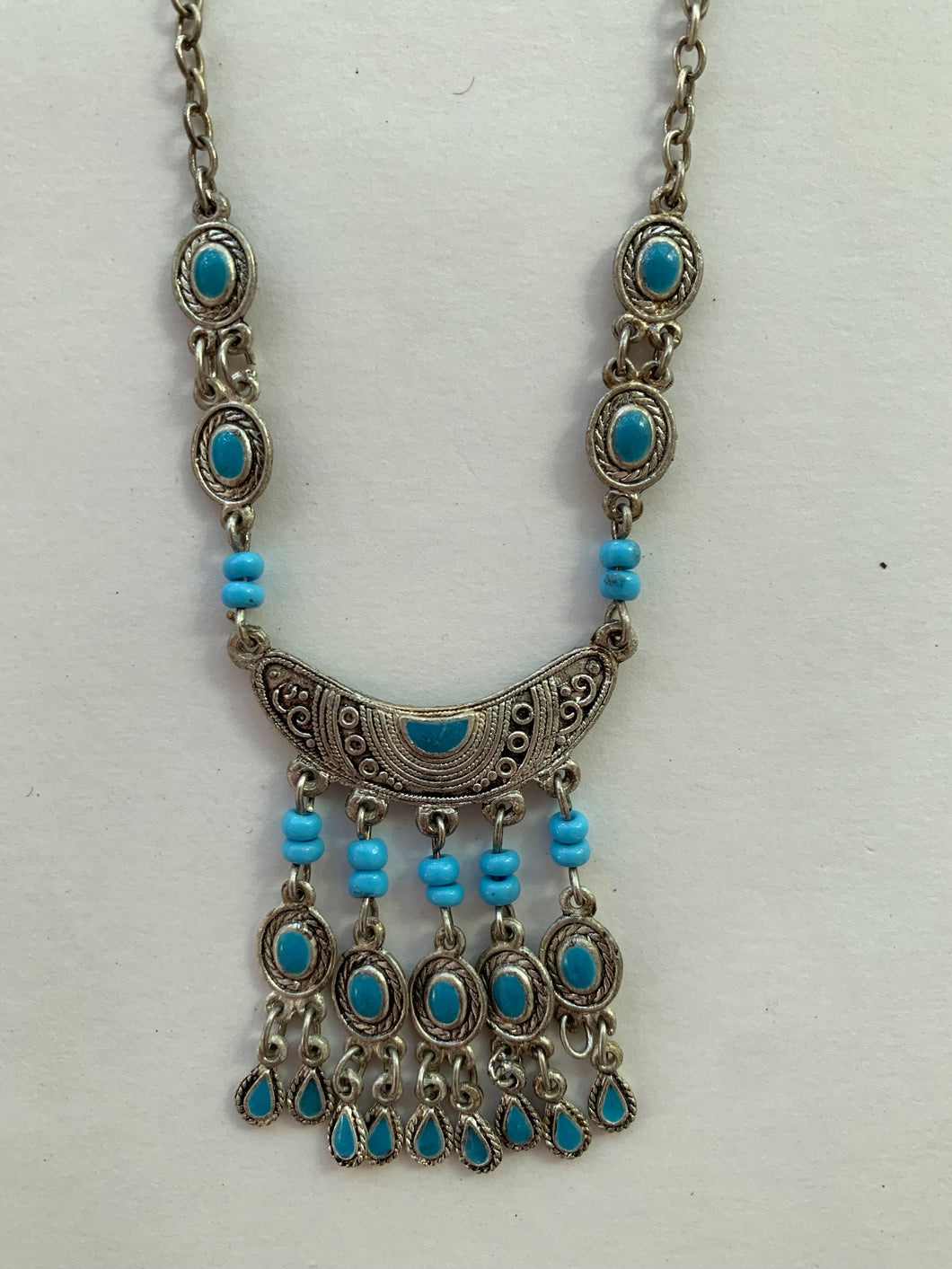 Moroccan Jewelry: Crescent Necklace