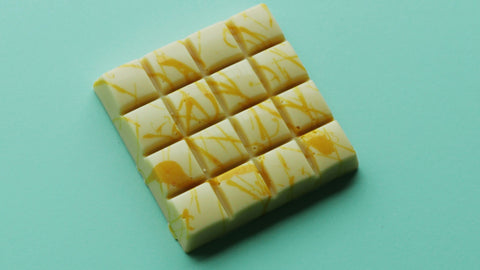 White Chocolate Bar - Lemon Fudge Filling