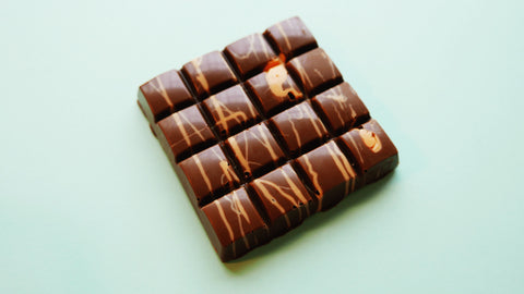 Milk Chocolate Bar - Salted Caramel Fudge Filling