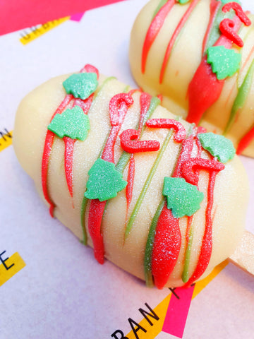 Bailey's Festive Fudge Lolly