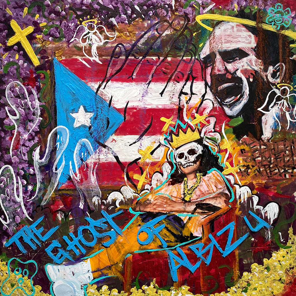 Pre-Order // The Ghost Of Albizu - UFO Fev, Prod: Big Ghost LTD