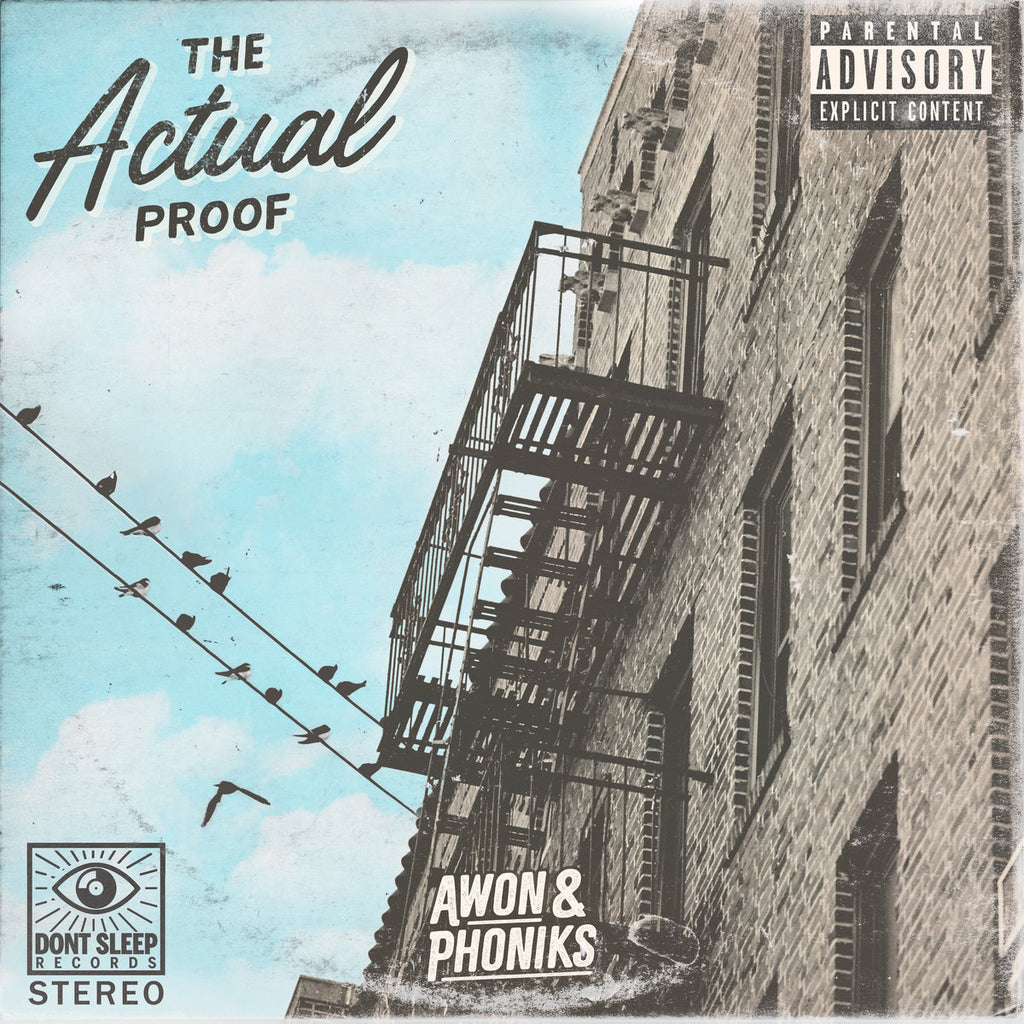 PRE-ORDER! // The Actual Proof - Awon & Phoniks