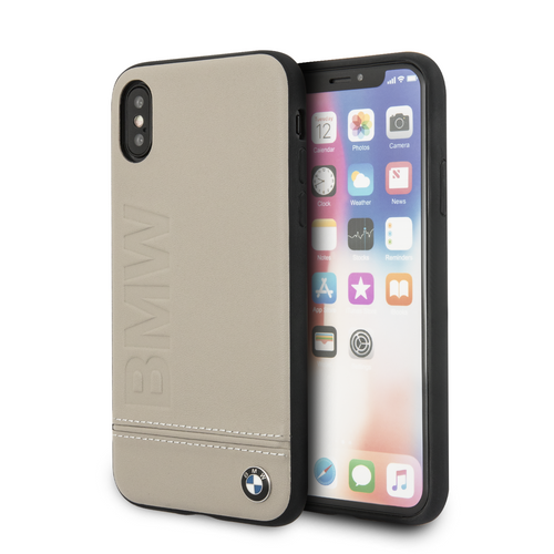 Funda Case Bmw Signature Logo Imprint Hard iPhone X/xs - ForwardContigo