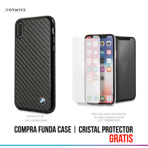 Funda Case BMW Signature Fibra Carbono iPhone X/xs