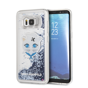 Funda Case Karl Lagerfeld  Sailor Choupete Glitter Azul Galaxy S8 - ForwardContigo