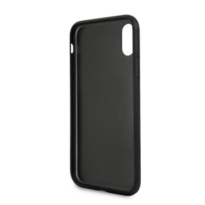 Case Funda Karl Lagerfeld y Choupette negra iPhoneX - ForwardContigo