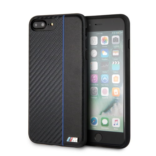 Funda Case Bmw Signa Fibra Carbono iPhone 6,7,8 Plus - ForwardContigo