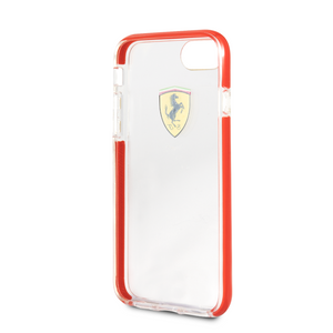 Funda Case Cristal Rojo Ferrari Original iPhone 6, 7, 8 y SE - ForwardContigo