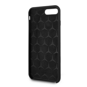 Funda Case Mercedes Benz Silicon Negra iPhone 6+7,8 Plus - ForwardContigo
