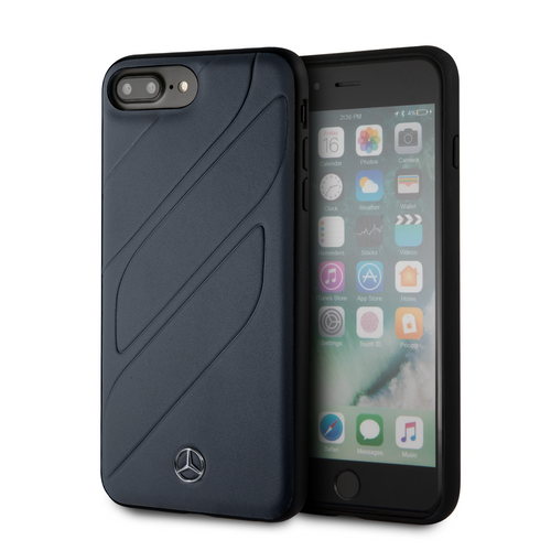 Funda Case Mercedes Benz negra Grecas iPhone 6,7,8 Plus - ForwardContigo