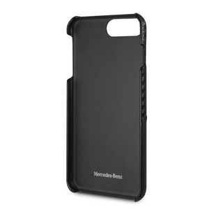 Case Funda  Mercedes Benz piel y carbono iPhone 6, 7 y 8 Plus - ForwardContigo